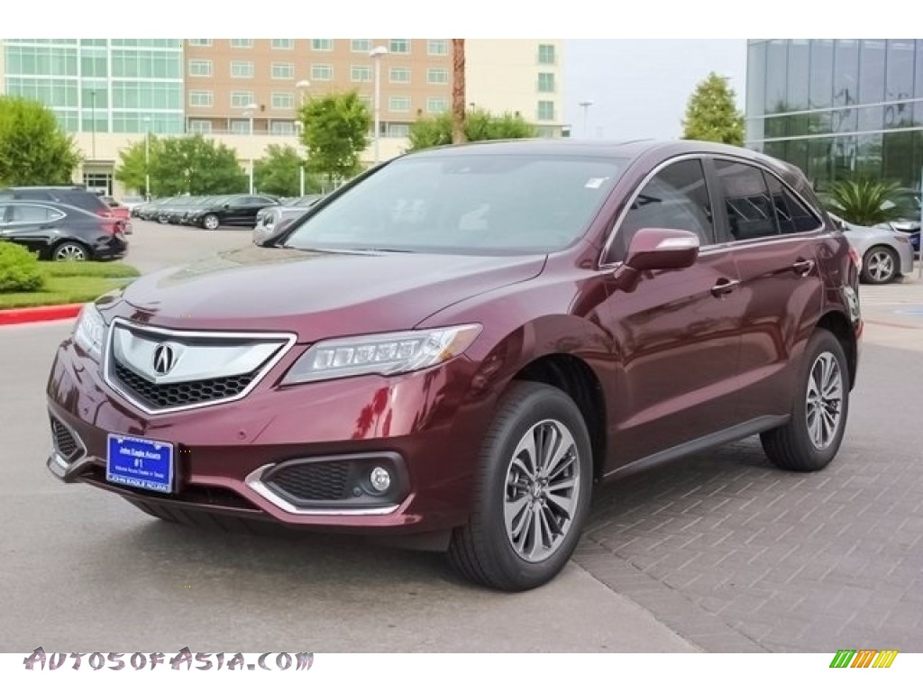 2018 RDX FWD Advance - Basque Red Pearl II / Parchment photo #3