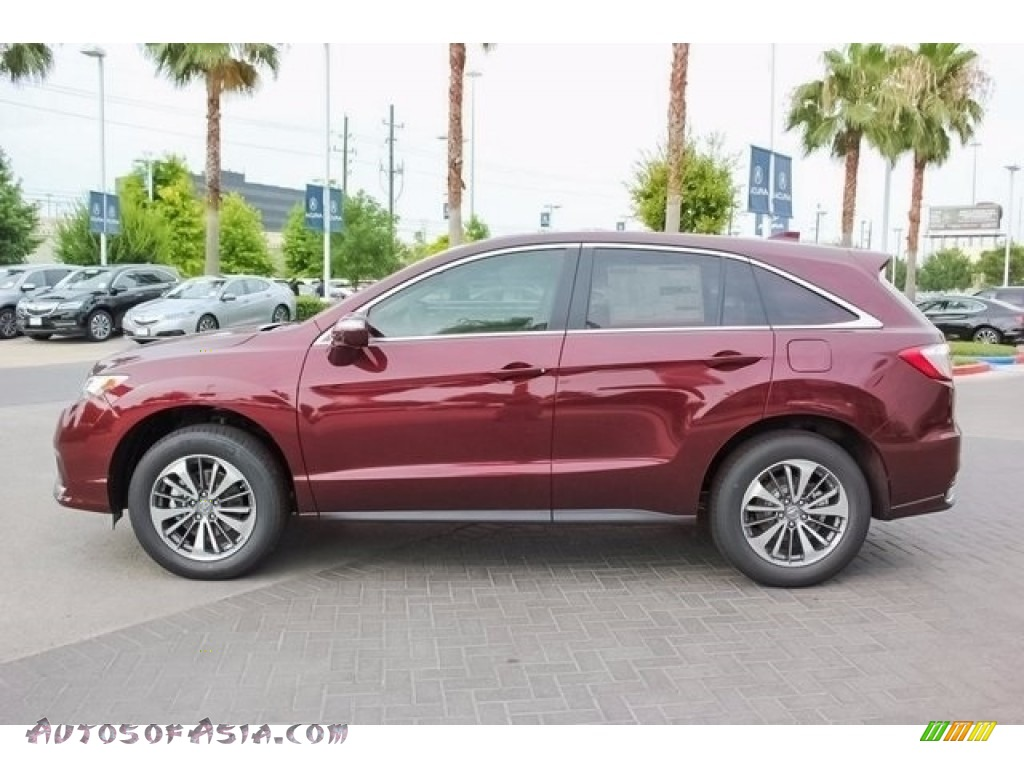 2018 RDX FWD Advance - Basque Red Pearl II / Parchment photo #4