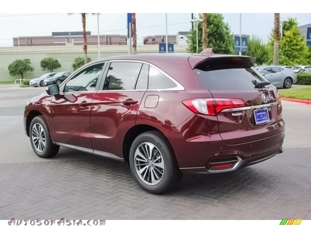 2018 RDX FWD Advance - Basque Red Pearl II / Parchment photo #5
