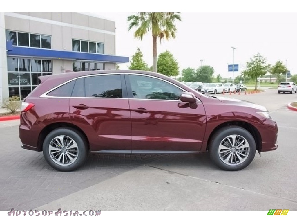 2018 RDX FWD Advance - Basque Red Pearl II / Parchment photo #8