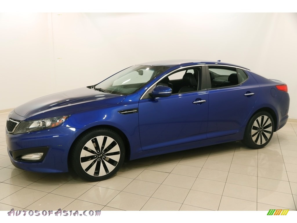 2013 Optima SX - Corsa Blue / Black photo #3