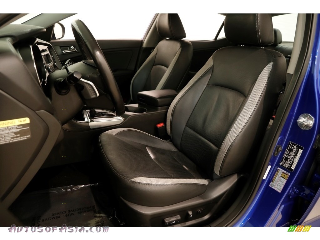 2013 Optima SX - Corsa Blue / Black photo #5