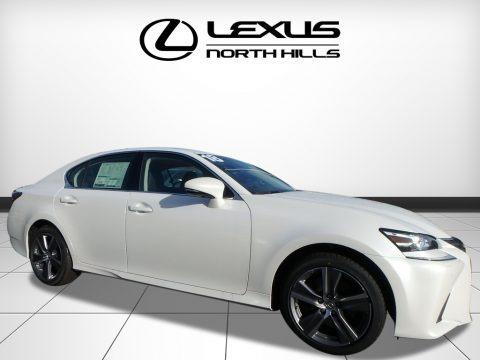 Eminent White Pearl 2018 Lexus GS 350 AWD