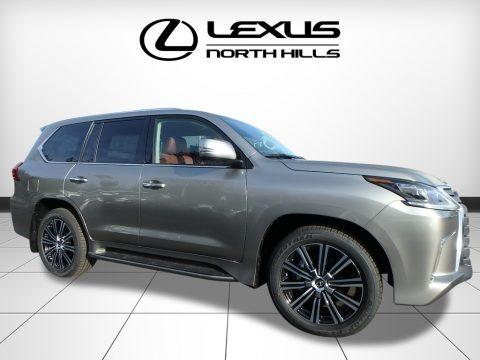 Atomic Silver 2018 Lexus LX 570