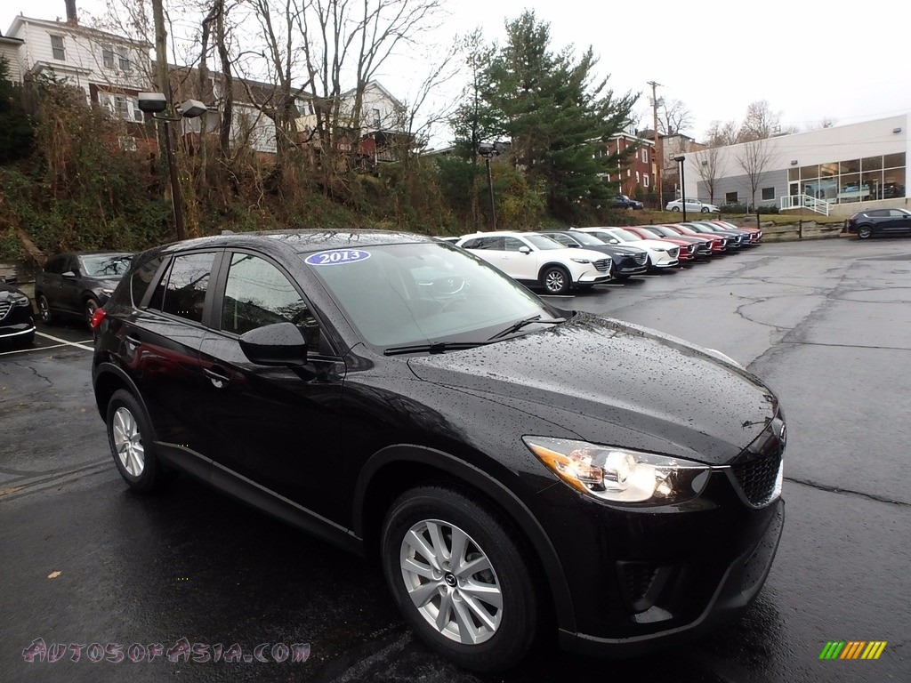 2013 CX-5 Sport AWD - Black Mica / Black photo #1