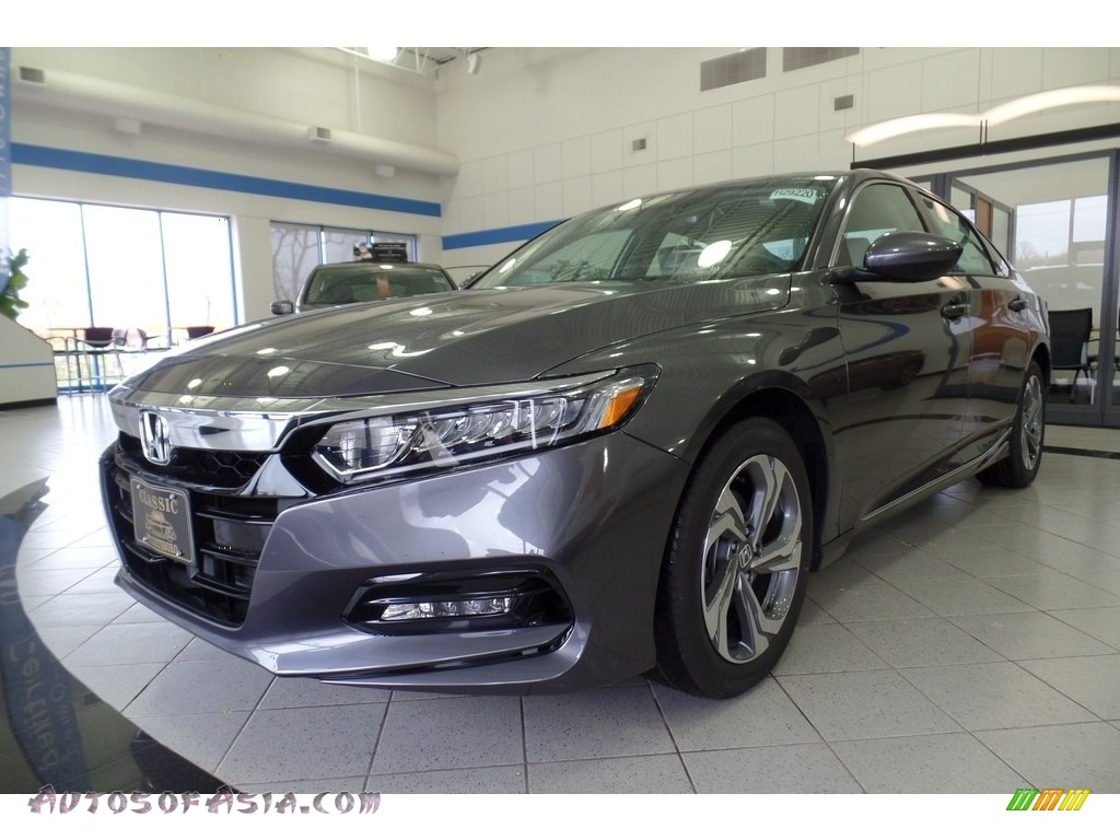 2018 Accord EX Sedan - Modern Steel Metallic / Gray photo #1