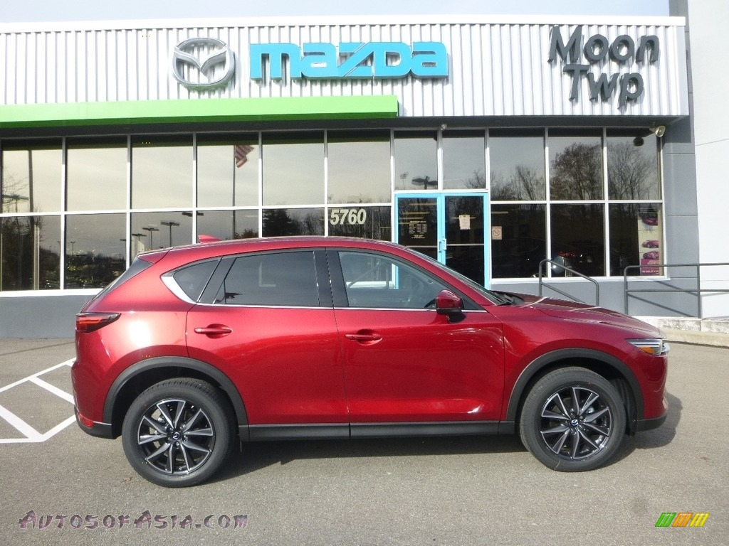 2017 CX-5 Grand Touring AWD - Soul Red Metallic / Parchment photo #1