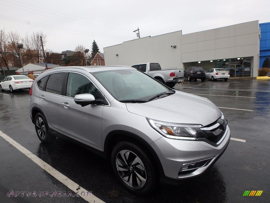2016 CR-V Touring AWD - Alabaster Silver Metallic / Black photo #1