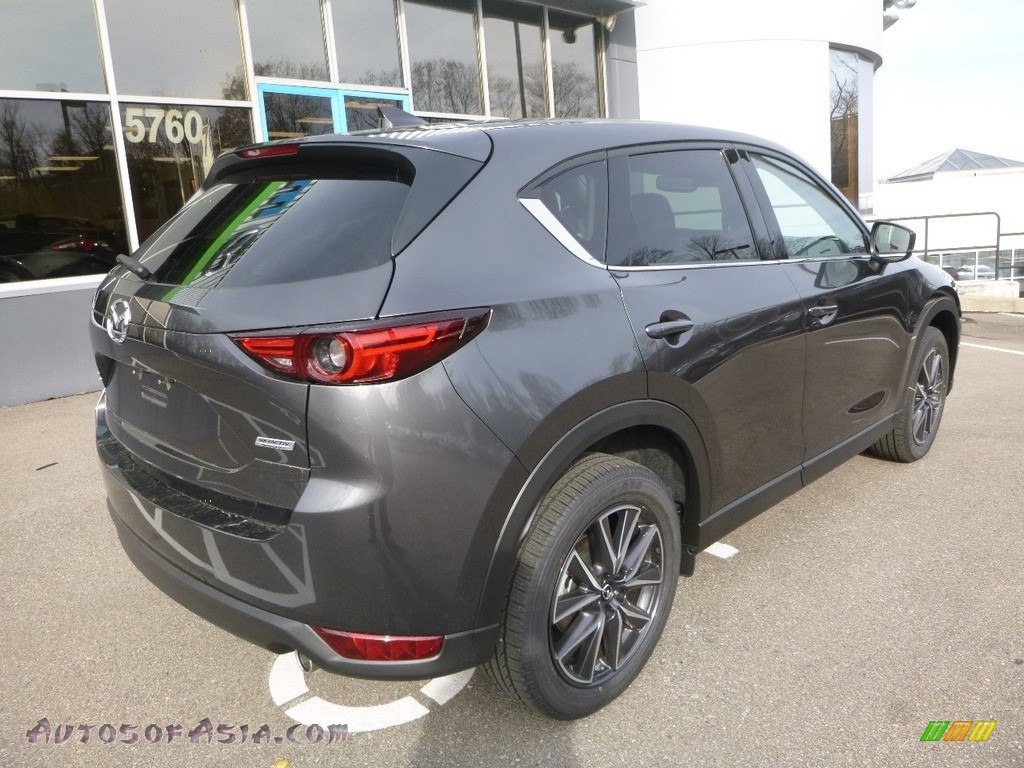 2017 CX-5 Grand Touring AWD - Meteor Gray Mica / Black photo #2