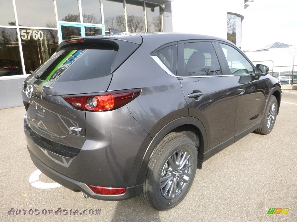 2017 CX-5 Touring AWD - Meteor Gray Mica / Black photo #2