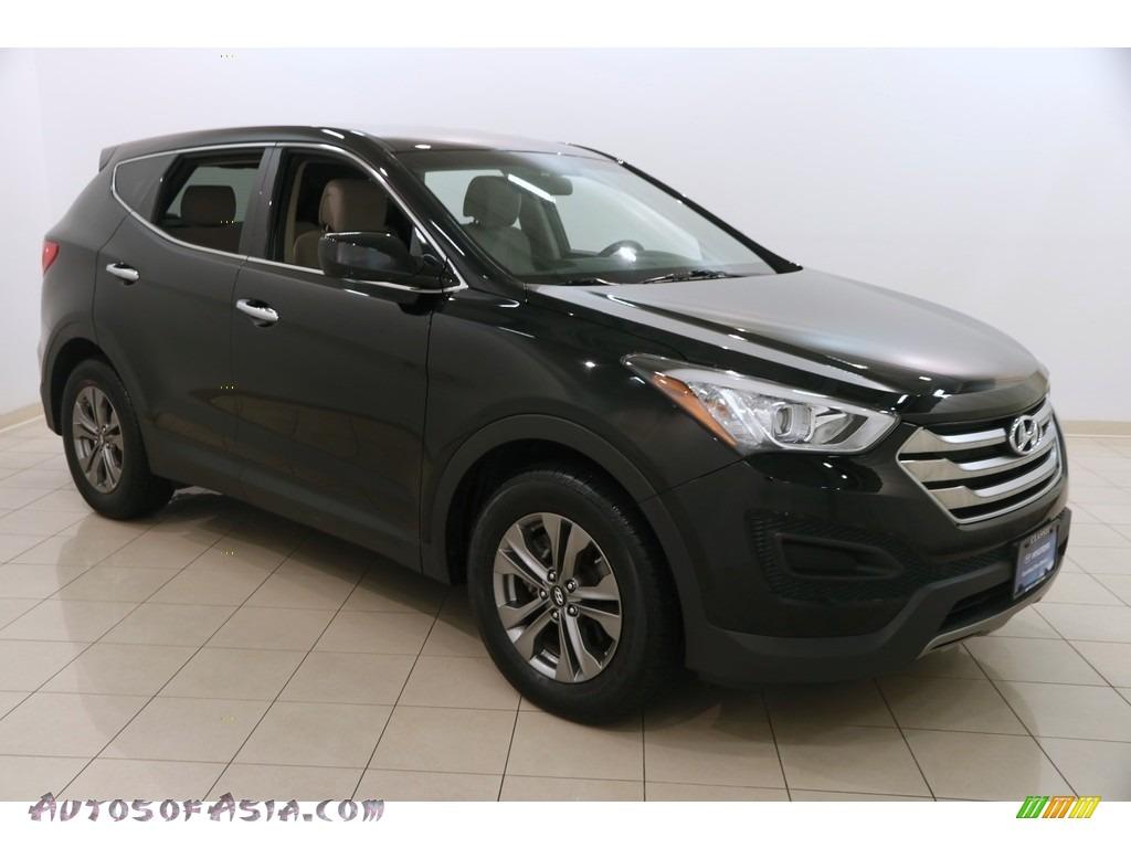 Twilight Black / Beige Hyundai Santa Fe Sport 2.4 AWD