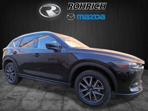 Jet Black Mica 2017 Mazda CX-5 Grand Touring AWD