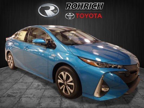 Blue Magnetism 2017 Toyota Prius Prime Advance