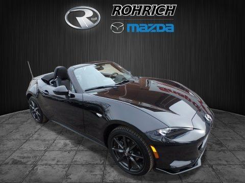 Jet Black Mica 2016 Mazda MX-5 Miata Club Roadster