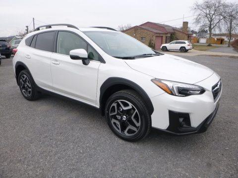 Crystal White Pearl 2018 Subaru Crosstrek 2.0i Limited