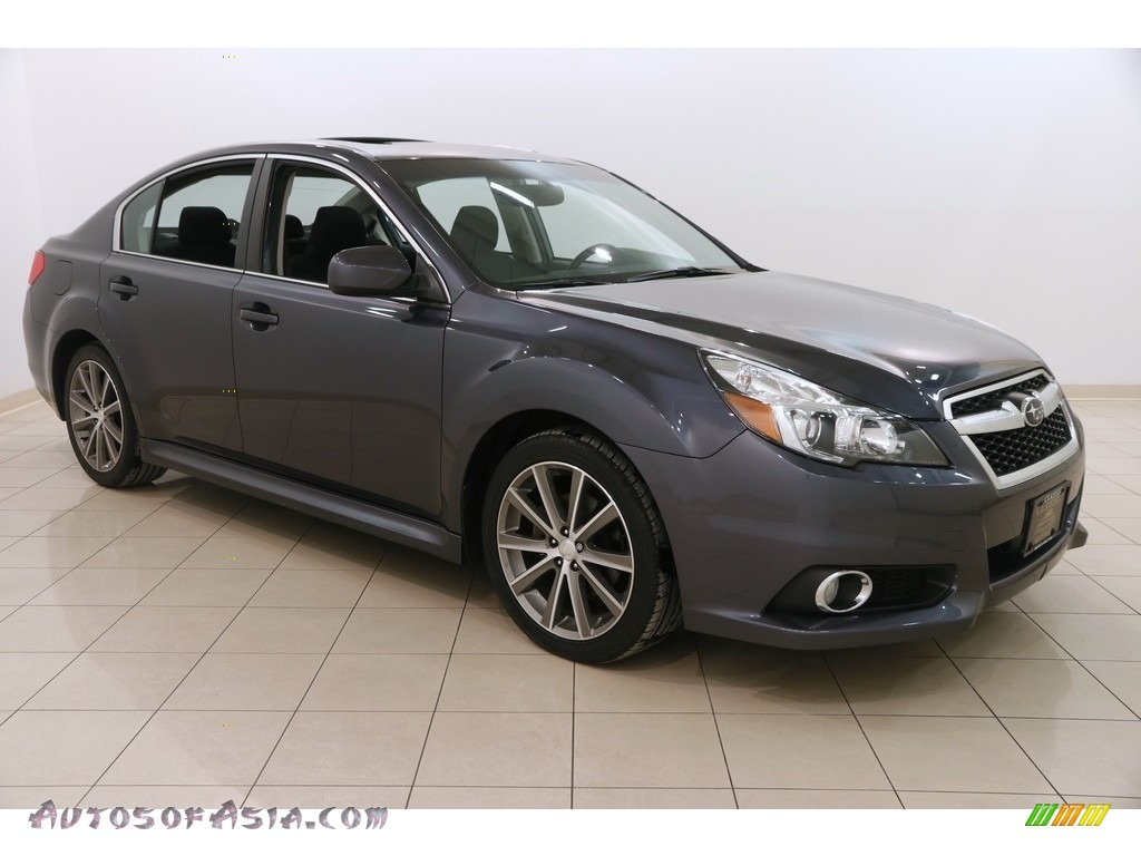 2014 Legacy 2.5i Sport - Carbide Gray Metallic / Black photo #1