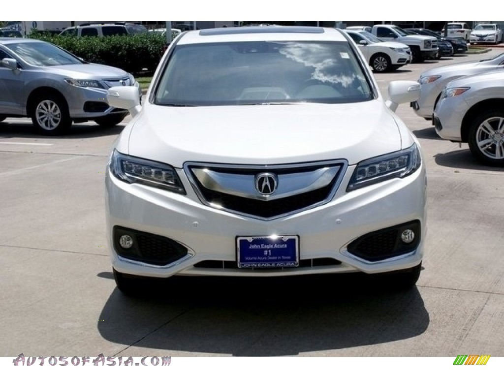 2018 RDX FWD Advance - White Diamond Pearl / Parchment photo #2