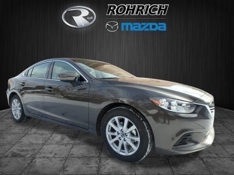 Sonic Silver Metallic 2017 Mazda Mazda6 Sport