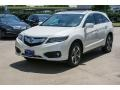 Acura RDX AWD Advance White Diamond Pearl photo #3