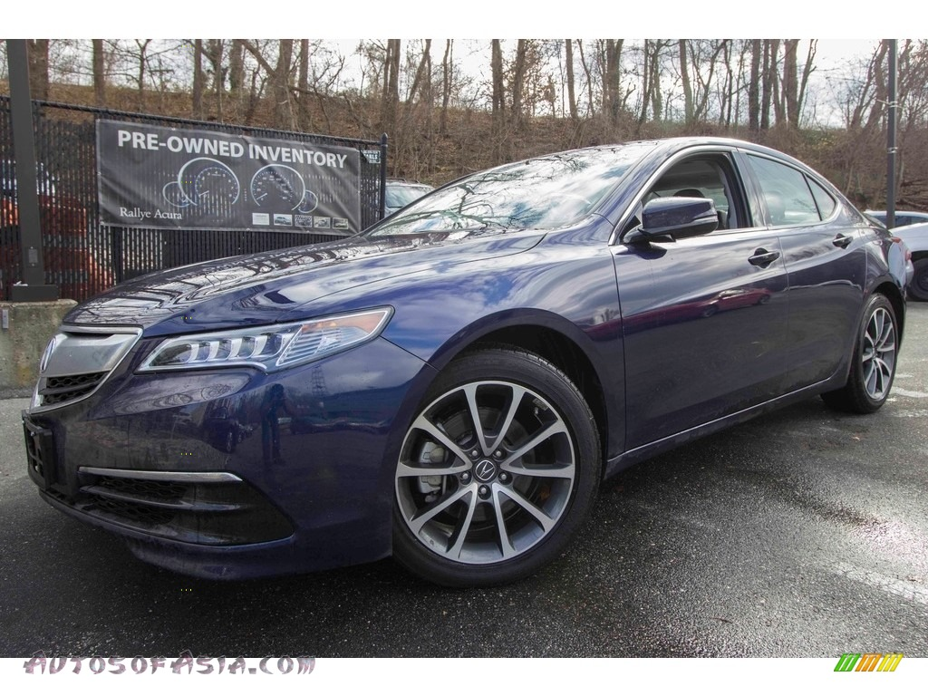 2017 TLX V6 Technology Sedan - Fathom Blue Pearl / Ebony photo #1