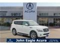 Infiniti QX 56 Moonlight White photo #1