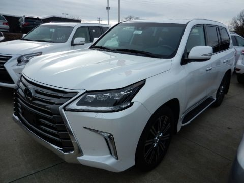 Eminent White Pearl 2018 Lexus LX 570