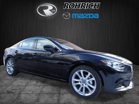 Jet Black Mica 2017 Mazda Mazda6 Touring
