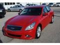 Infiniti G 37 Journey Sedan Vibrant Red photo #1