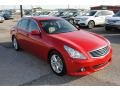 Infiniti G 37 Journey Sedan Vibrant Red photo #7