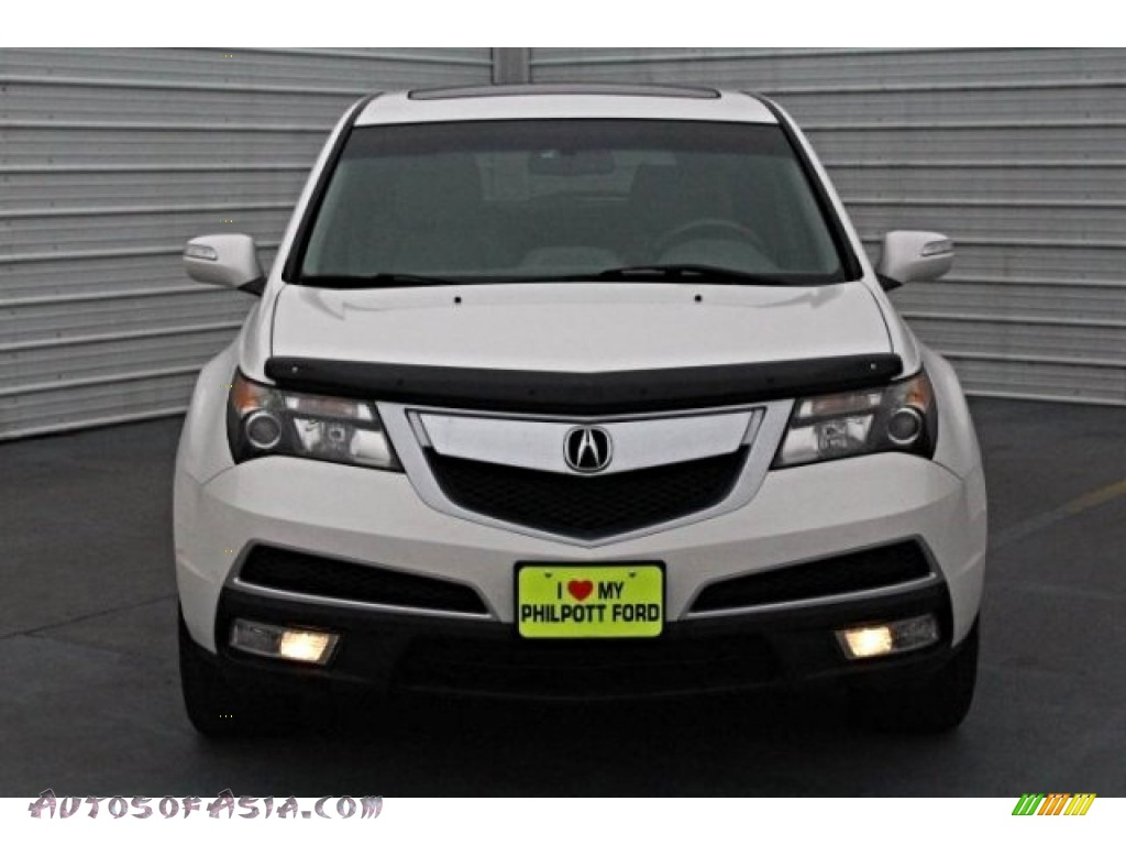2011 MDX Technology - Aspen White Pearl / Ebony photo #2