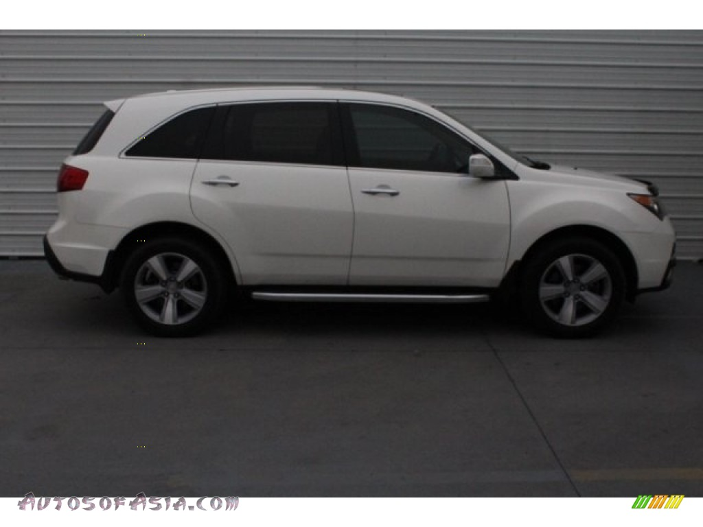 2011 MDX Technology - Aspen White Pearl / Ebony photo #11