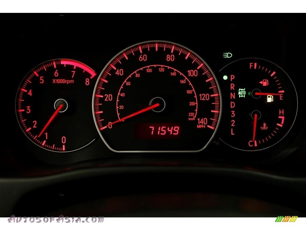 2009 SX4 Crossover Touring AWD - Sunlight Copper Metallic / Black photo #7