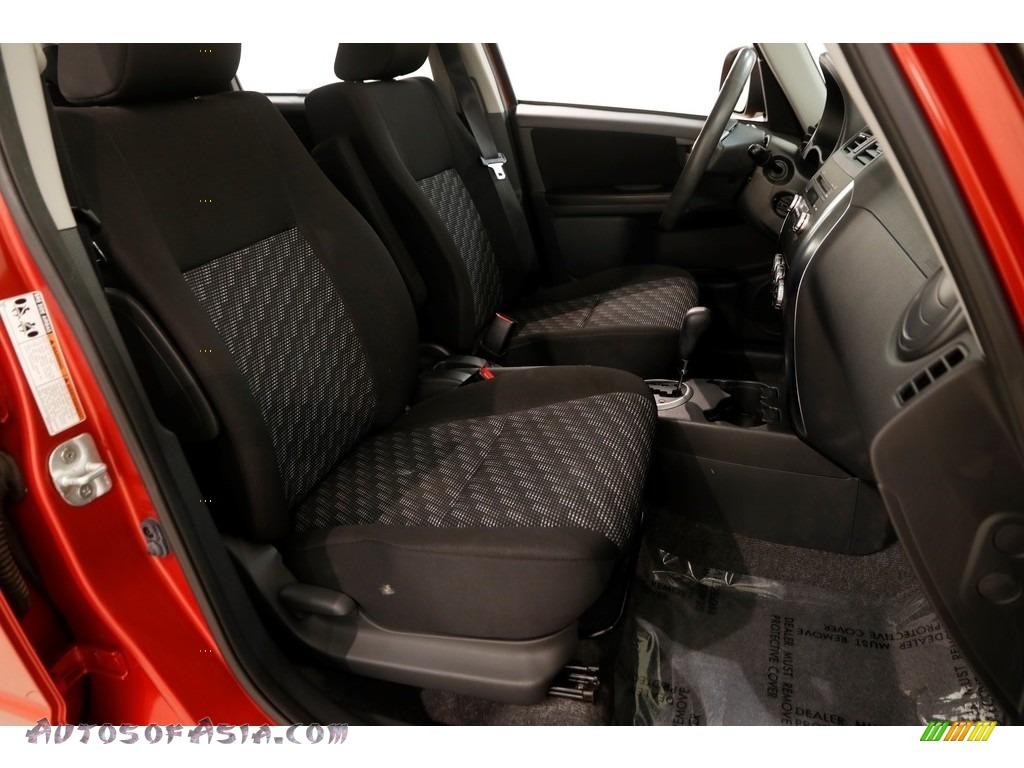 2009 SX4 Crossover Touring AWD - Sunlight Copper Metallic / Black photo #19