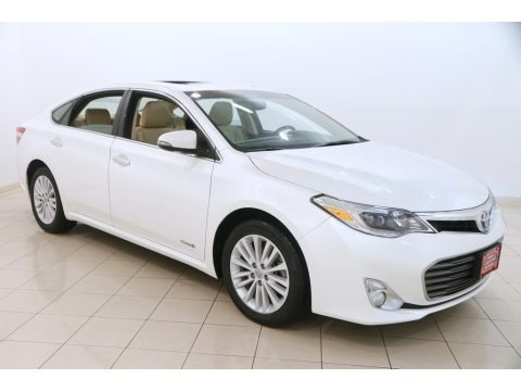 Blizzard Pearl 2014 Toyota Avalon Hybrid Limited