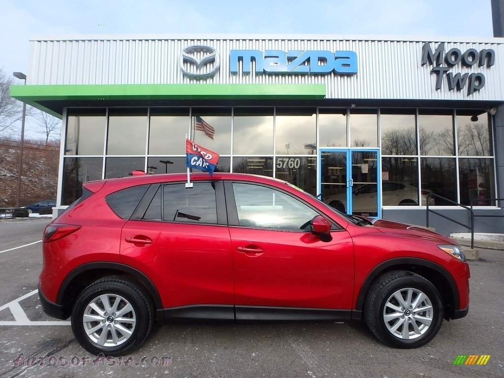 2014 CX-5 Touring AWD - Soul Red Metallic / Black photo #1