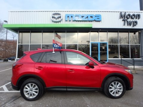 Soul Red Metallic 2014 Mazda CX-5 Touring AWD