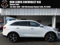 Kia Sorento EX V6 AWD Snow White Pearl photo #1