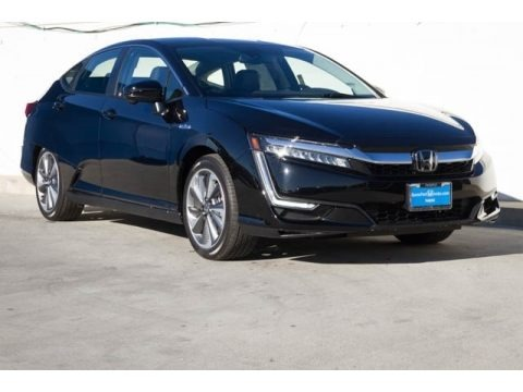 Crystal Black Pearl 2018 Honda Clarity Touring Plug In Hybrid