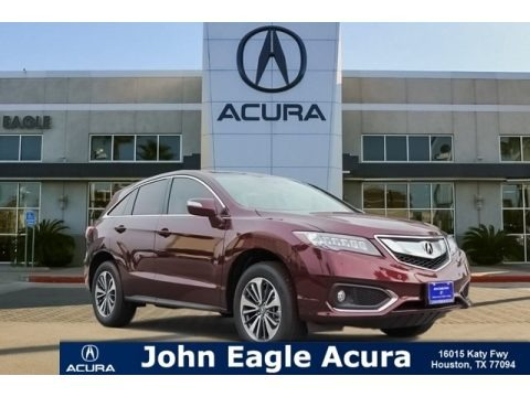 Basque Red Pearl II 2018 Acura RDX FWD Advance