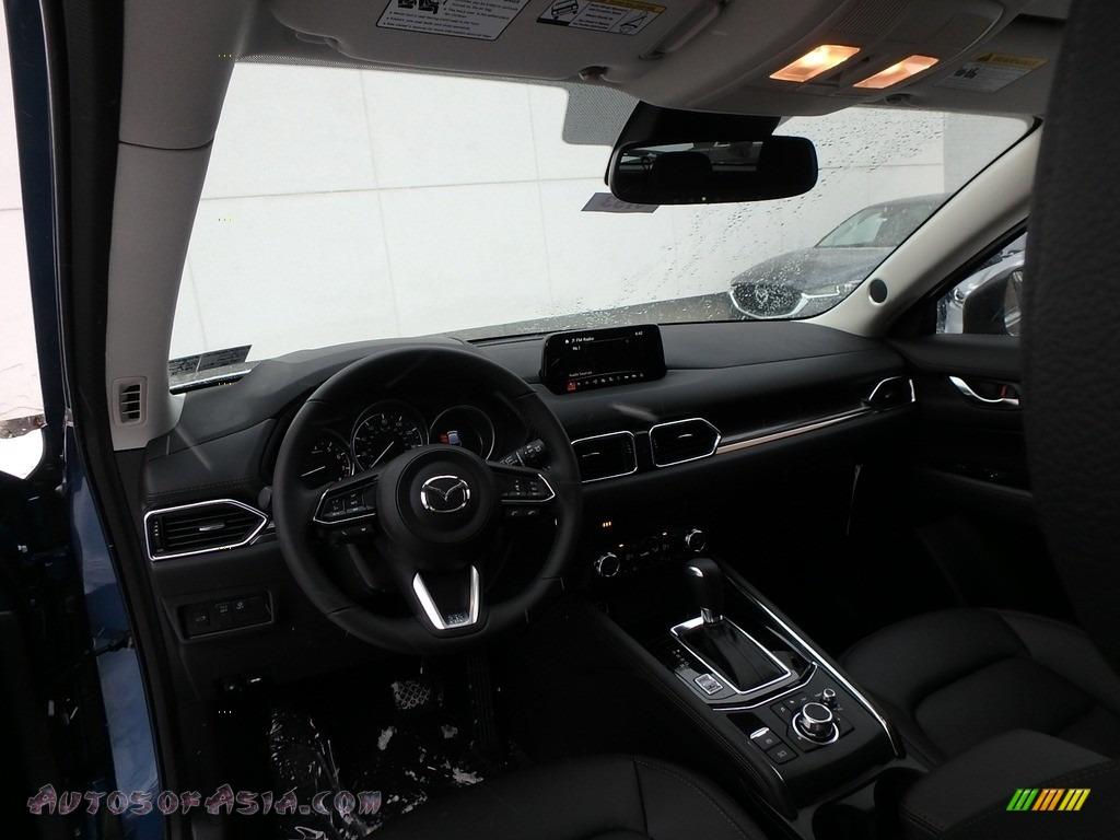 2018 CX-5 Grand Touring AWD - Eternal Blue Metallic / Black photo #8