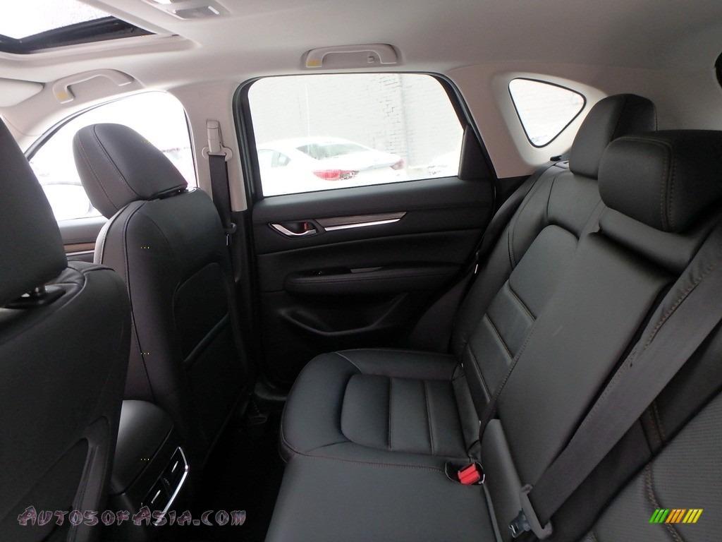 2018 CX-5 Grand Touring AWD - Snowflake White Pearl Mica / Black photo #8