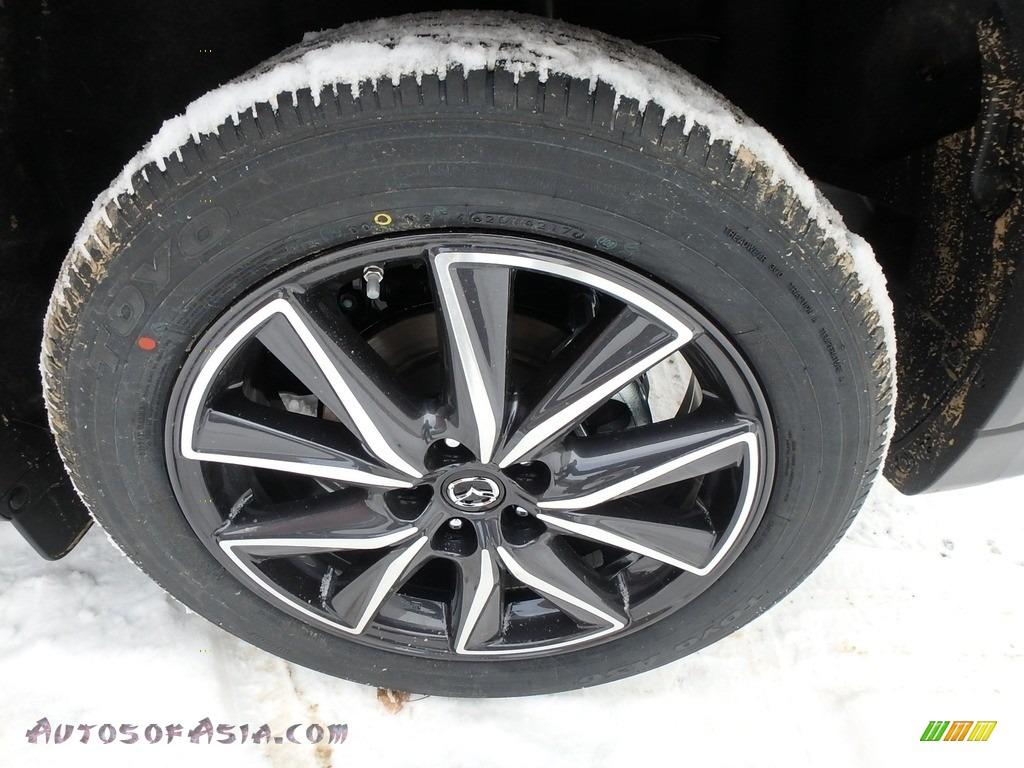 2018 CX-5 Touring AWD - Deep Crystal Blue Mica / Black photo #5