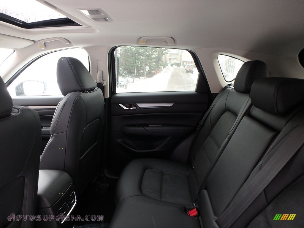 2018 CX-5 Touring AWD - Deep Crystal Blue Mica / Black photo #8