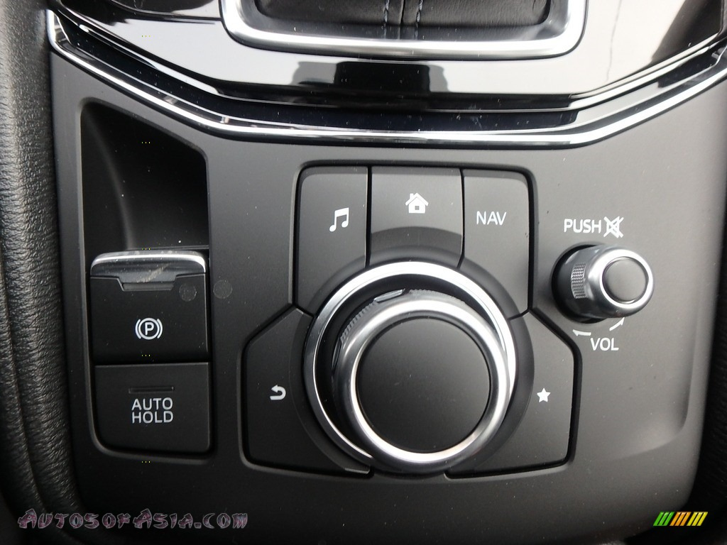 2018 CX-5 Touring AWD - Deep Crystal Blue Mica / Black photo #15
