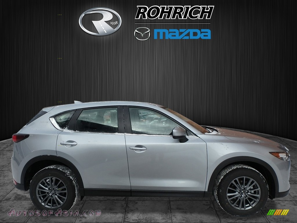 2018 CX-5 Sport AWD - Sonic Silver Metallic / Black photo #2