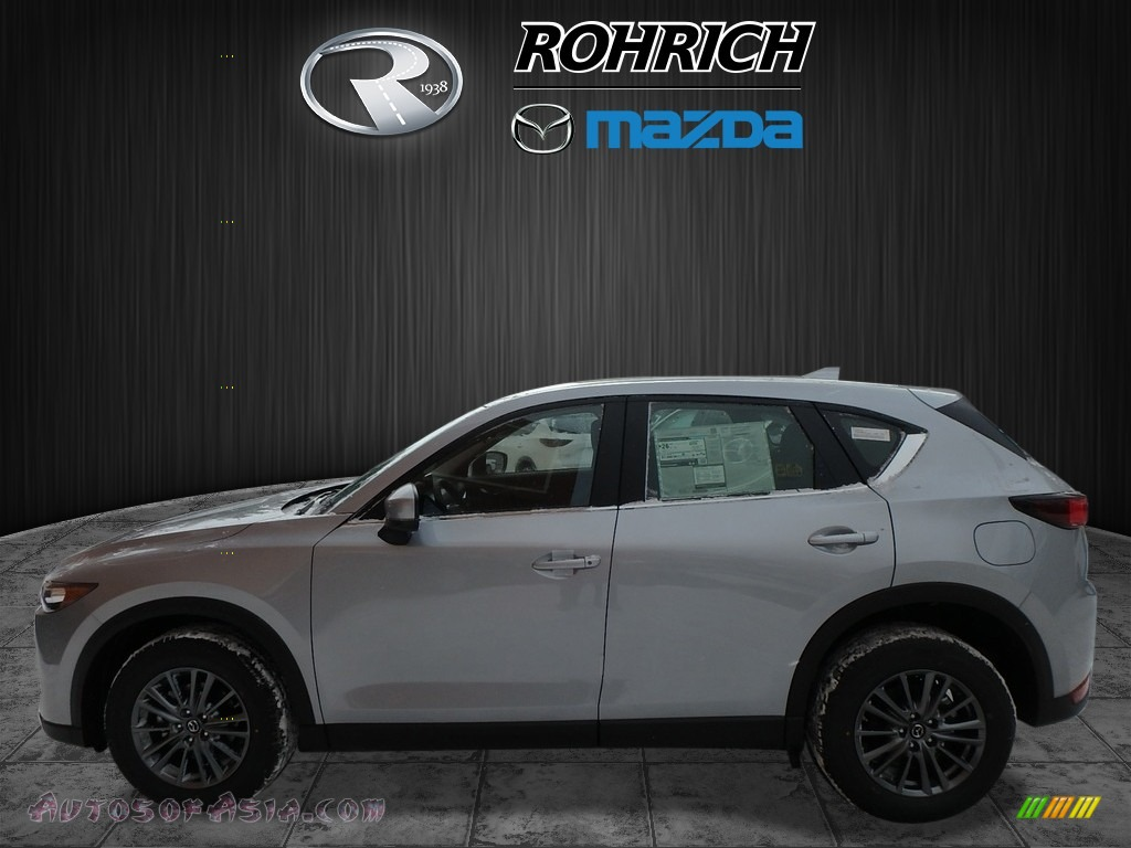 2018 CX-5 Sport AWD - Sonic Silver Metallic / Black photo #3