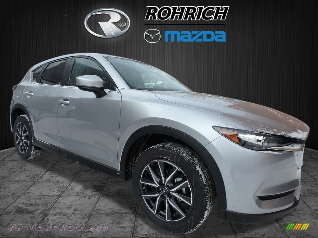 2018 CX-5 Touring AWD - Sonic Silver Metallic / Black photo #1