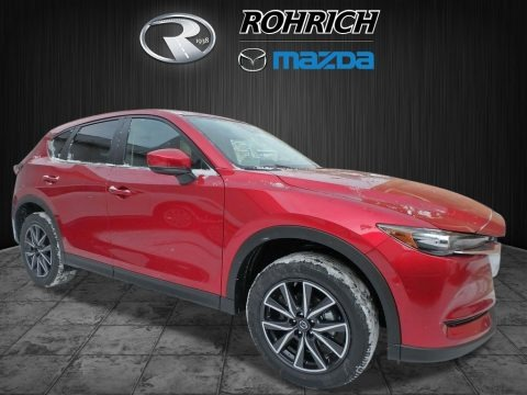 Soul Red Crystal Metallic 2018 Mazda CX-5 Touring AWD