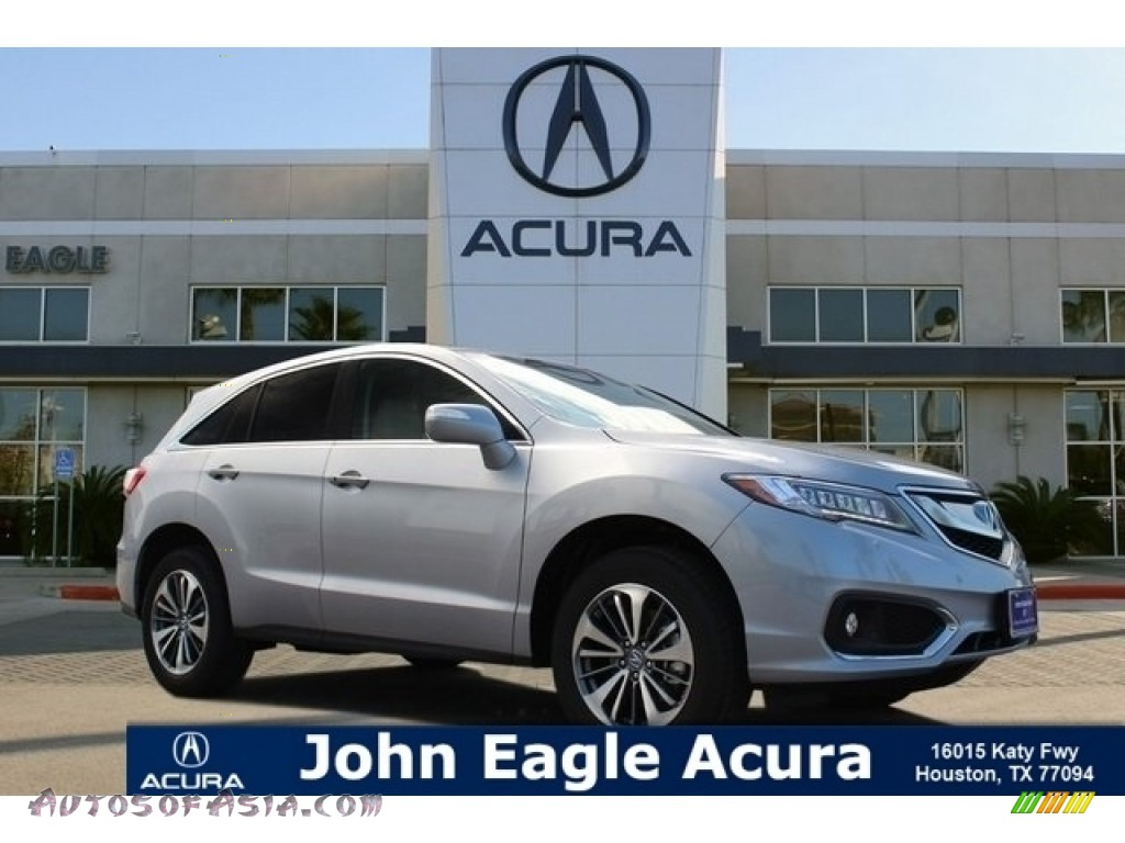 Lunar Silver Metallic / Ebony Acura RDX FWD Advance