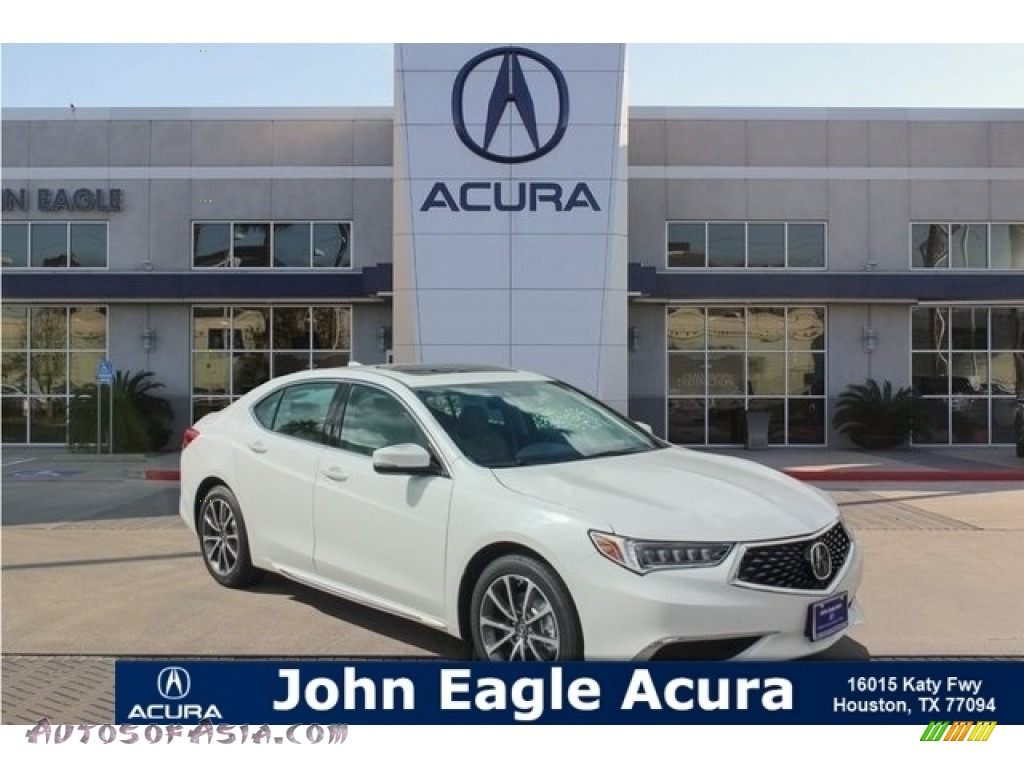 Bellanova White Pearl / Ebony Acura TLX V6 Technology Sedan